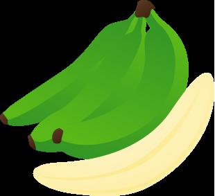 Banana green. Bananas clipart transparent free
