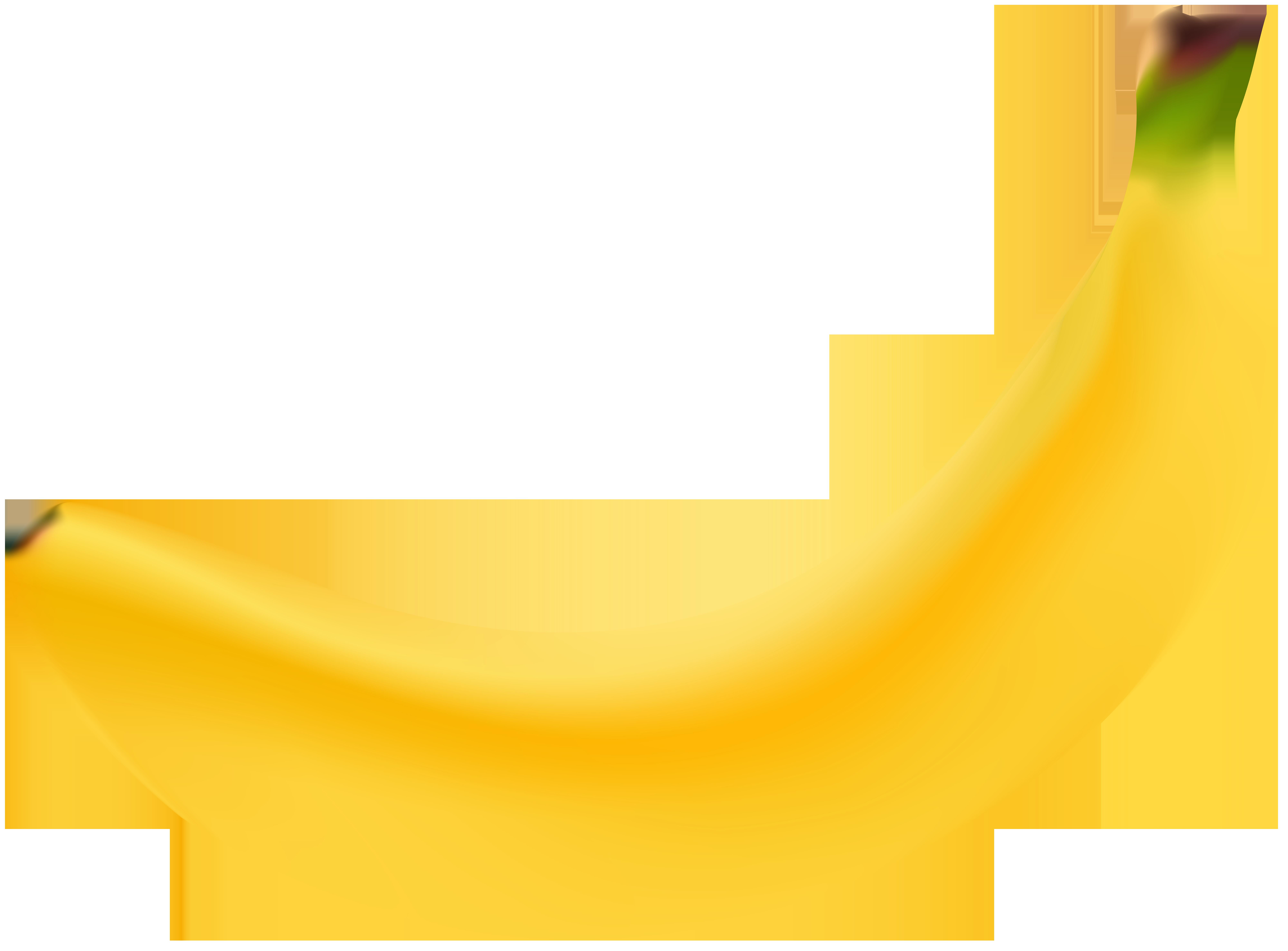 Clipart banana high quality. Transparent clip art image