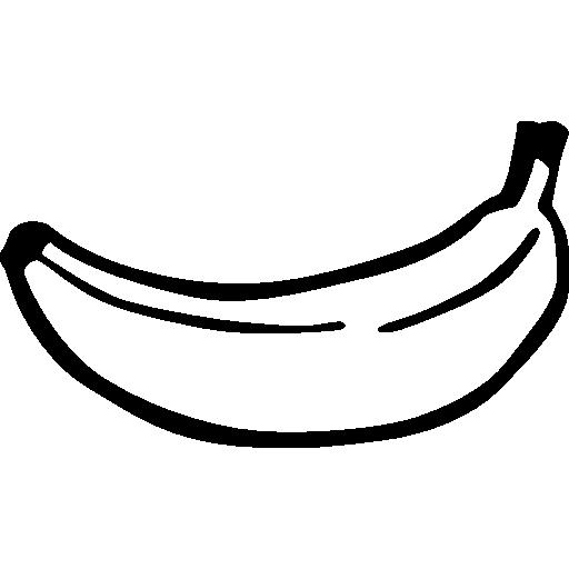 Bananas clipart icon. Banana free food icons