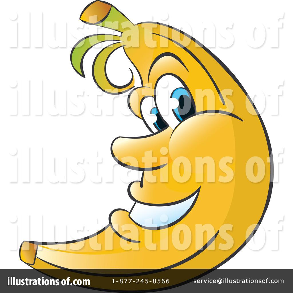 Bananas clipart illustration. By alexia lougiaki royaltyfree