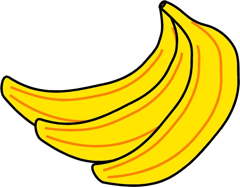 Free images download clip. Bananas clipart small banana