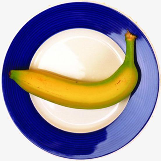 Plate png image and. Bananas clipart yellow banana