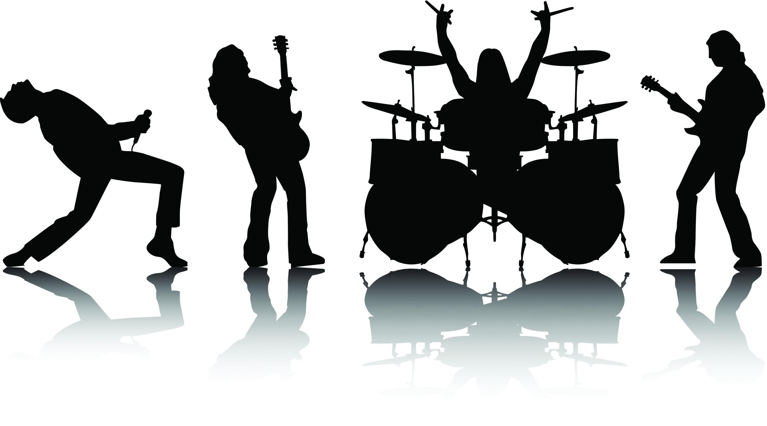 Band clipart. Rock clip art cliparts