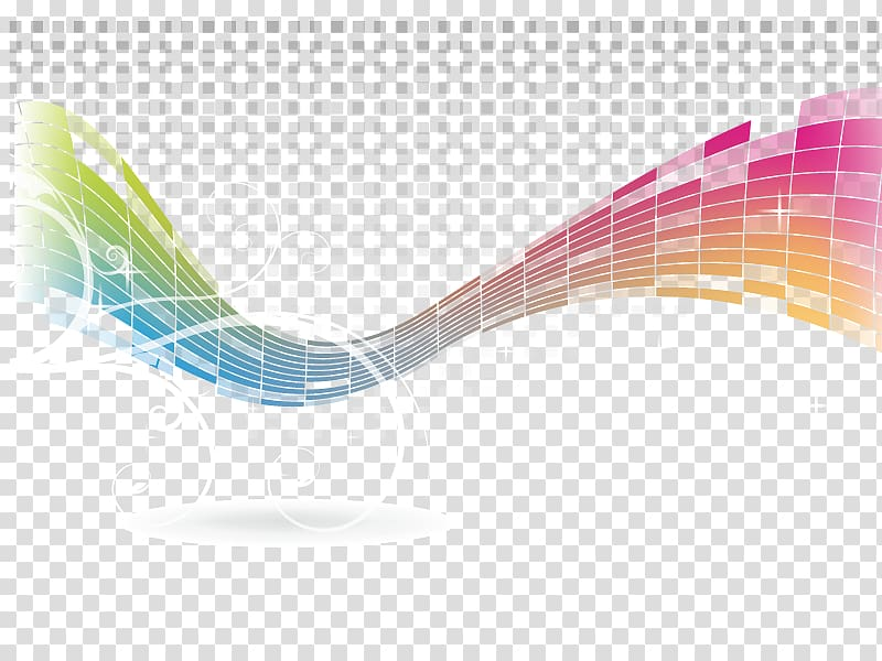 Multicolored equalizer illustration abstraction. Band clipart abstract