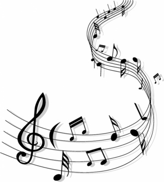 Band clipart abstract. Music free vector download