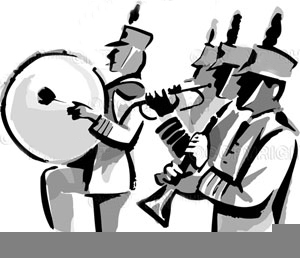 Band clipart animated. Marching free images at