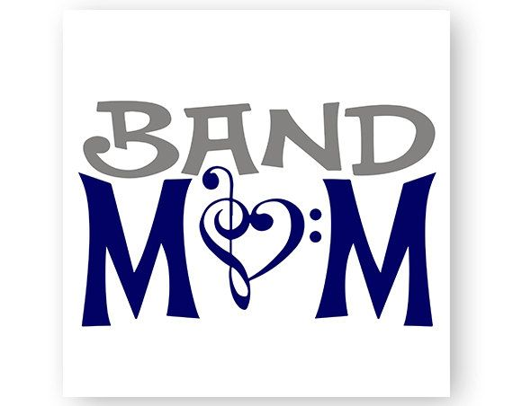 Band clipart band air. Mom music marching note