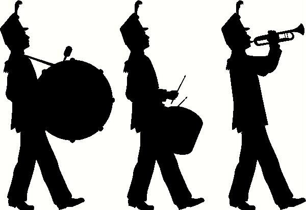 Free clip art marching. Band clipart band director