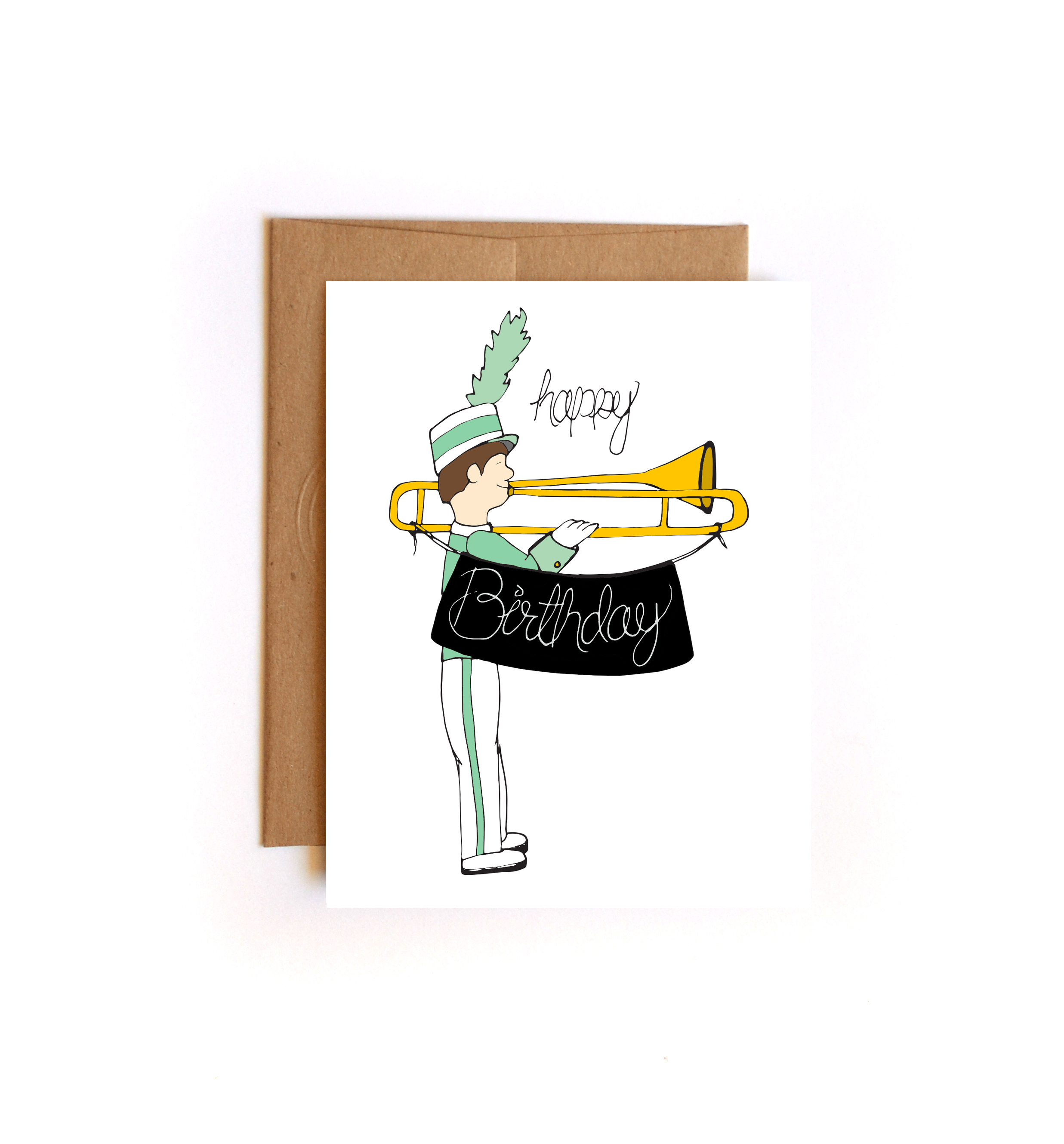 Band clipart band geek. Happy birthday marching greeting