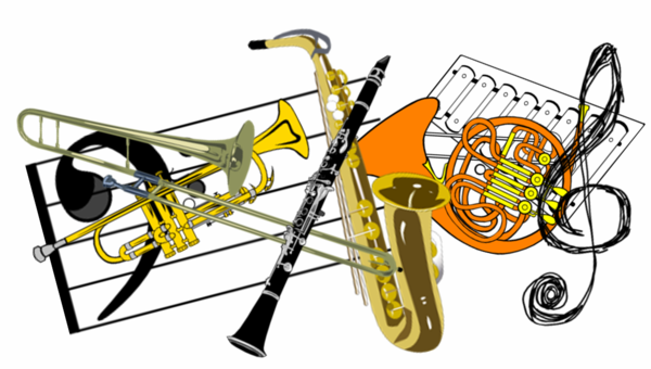 Band clipart band instrument. Rentals