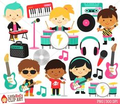 Animal orchestra music musical. Band clipart band instrument