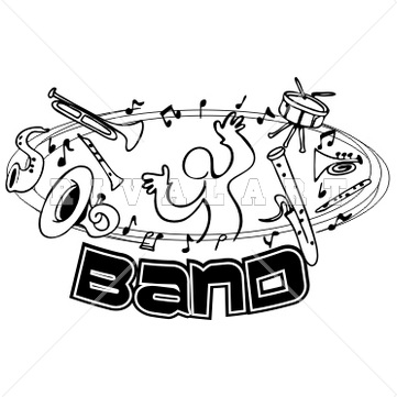 Kp likes to play. Band clipart band instrument