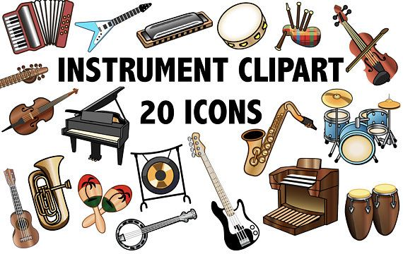 Music clip art . Band clipart band instrument