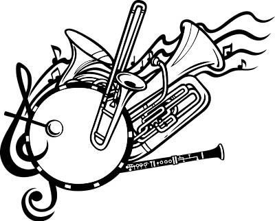 Free incep imagine ex. Band clipart band instrument