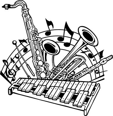 band clipart band instrument