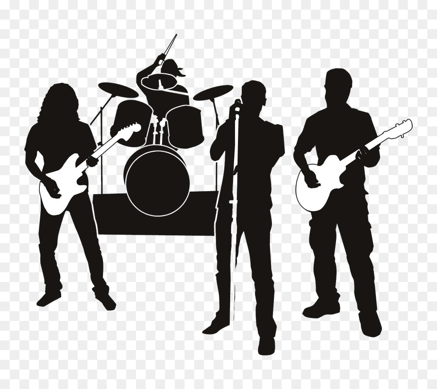 Rock clip art musical. Band clipart band live
