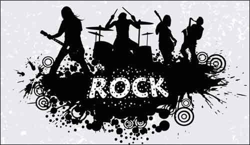 Music clip art sets. Band clipart band live