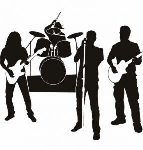 Music st october the. Band clipart band live