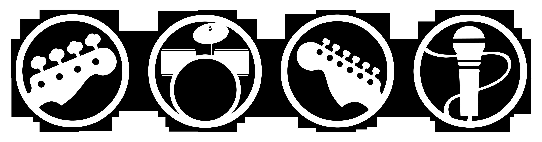 Rock harmonix drums set. Band clipart band room