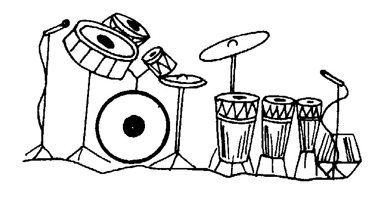Band clipart black and white. Free download clip art