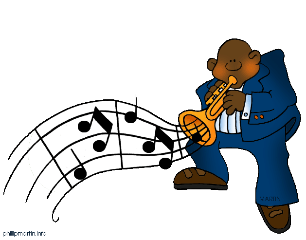 Free cliparts download clip. Jazz clipart blues music