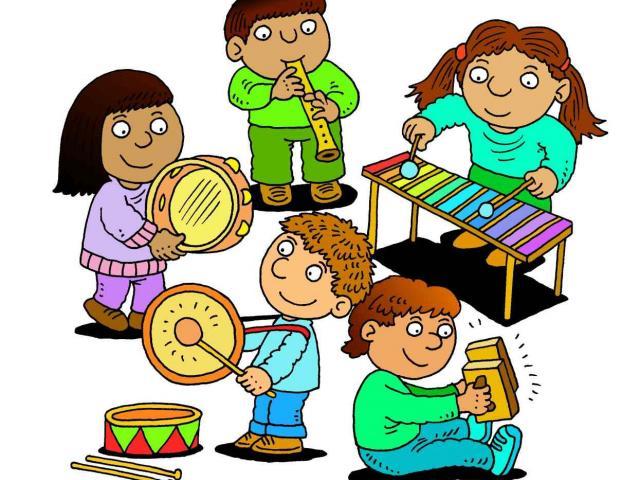 Band clipart children's. Free download clip art