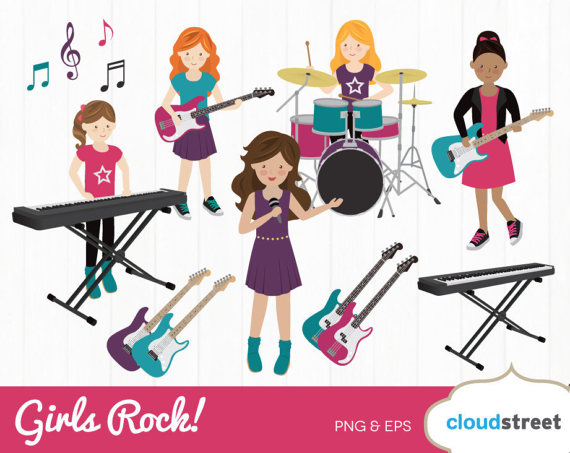 Band clipart clip art. Buy get free girls