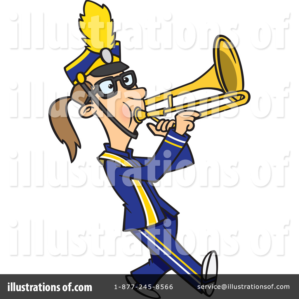 Band clipart clip art. Marching illustration by toonaday