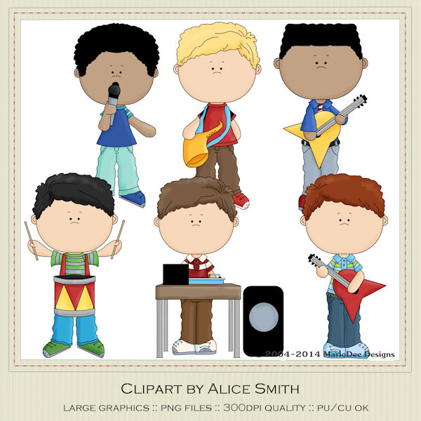 Band clipart clip art. Music designs commercial use