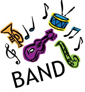 Band clipart concert band. School