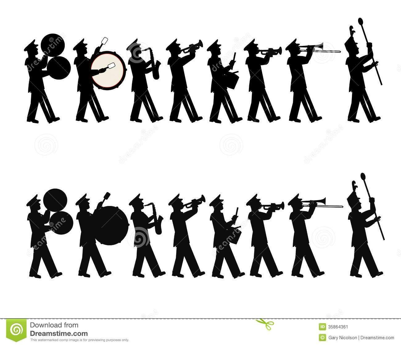 Band drumline