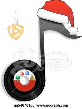 Christmas music clip art. Band clipart holiday
