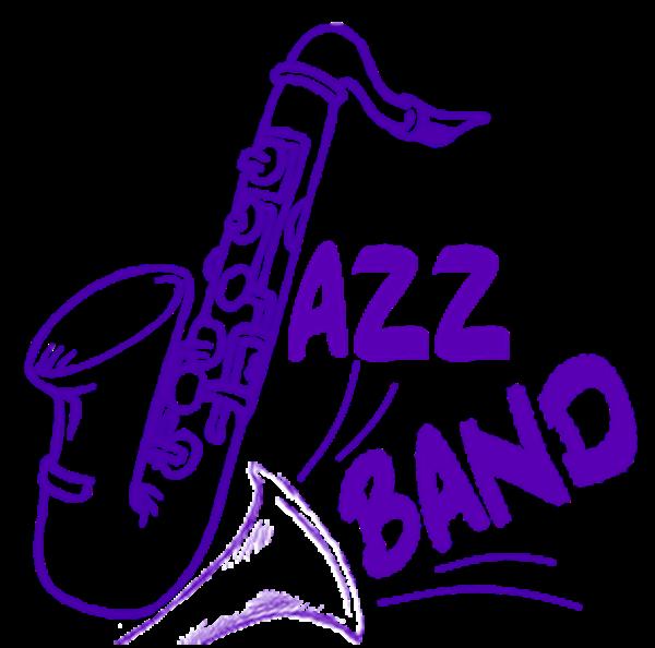 Band. Jazz clipart logo