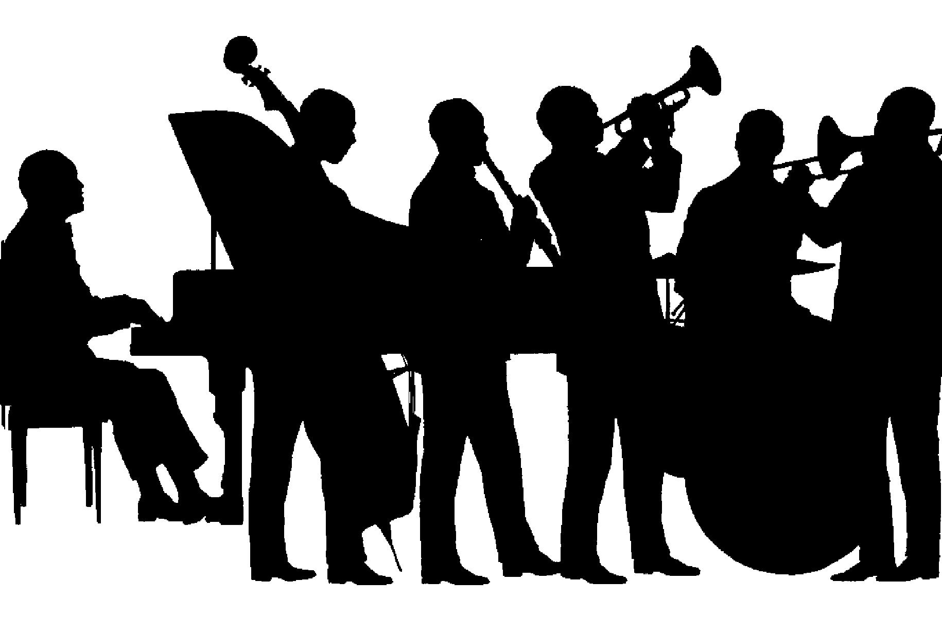Jazz clipart clip art. Unique collection digital coloring