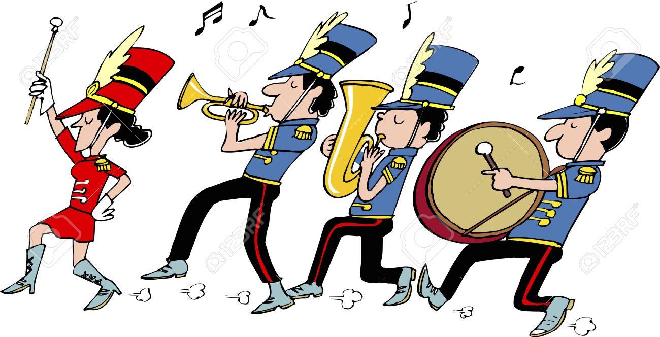 Band Clipart Marching Band  Band Marching Band Transparent