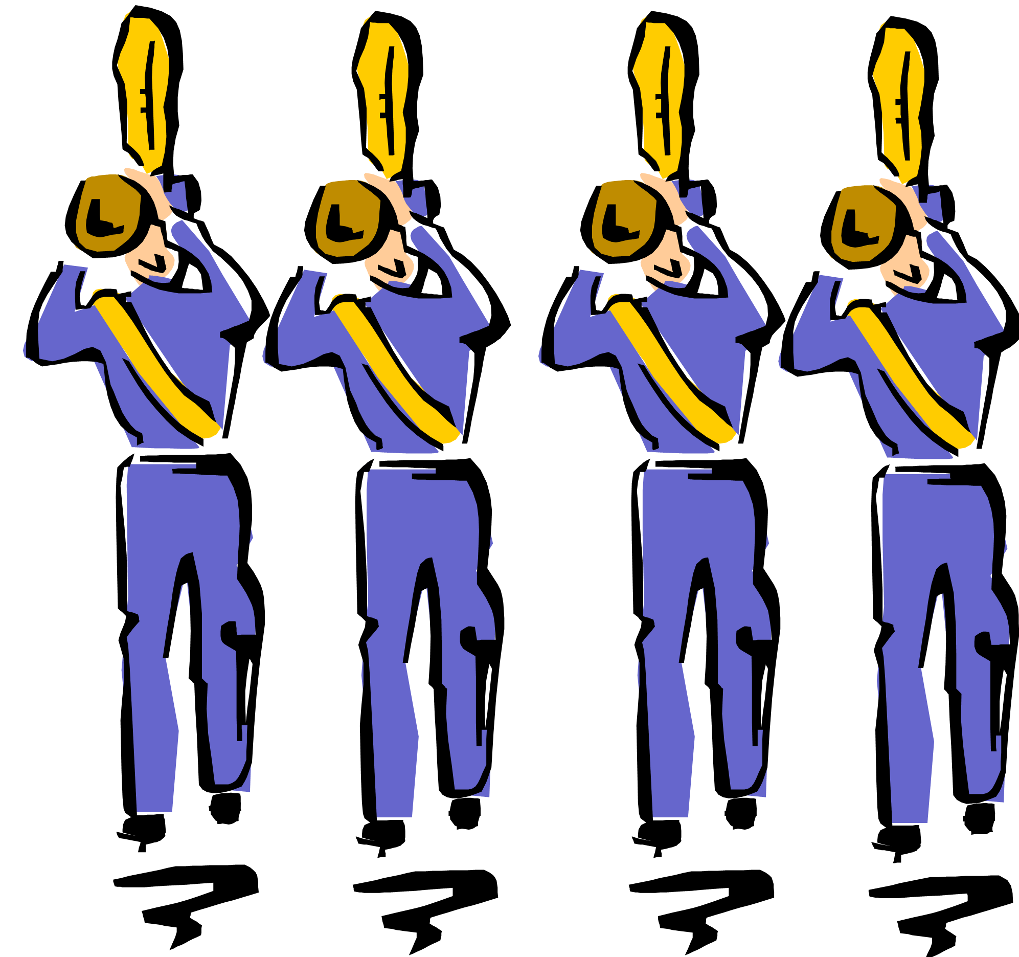 Band clipart marching band. Graphics panda free images