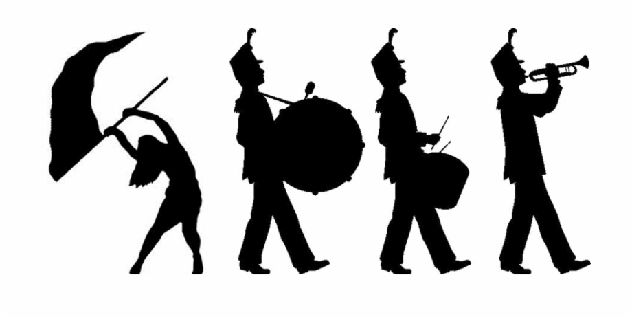 Band clipart marching band. Money png library rr