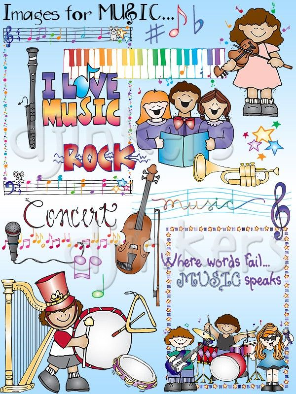 best cd s. Band clipart music classroom