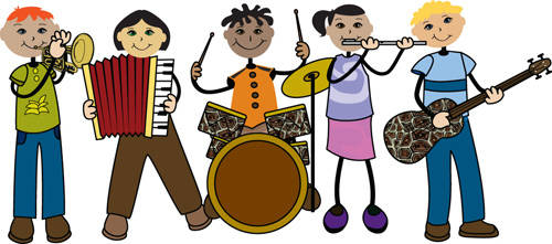 Band clipart music education. Incep imagine ex co