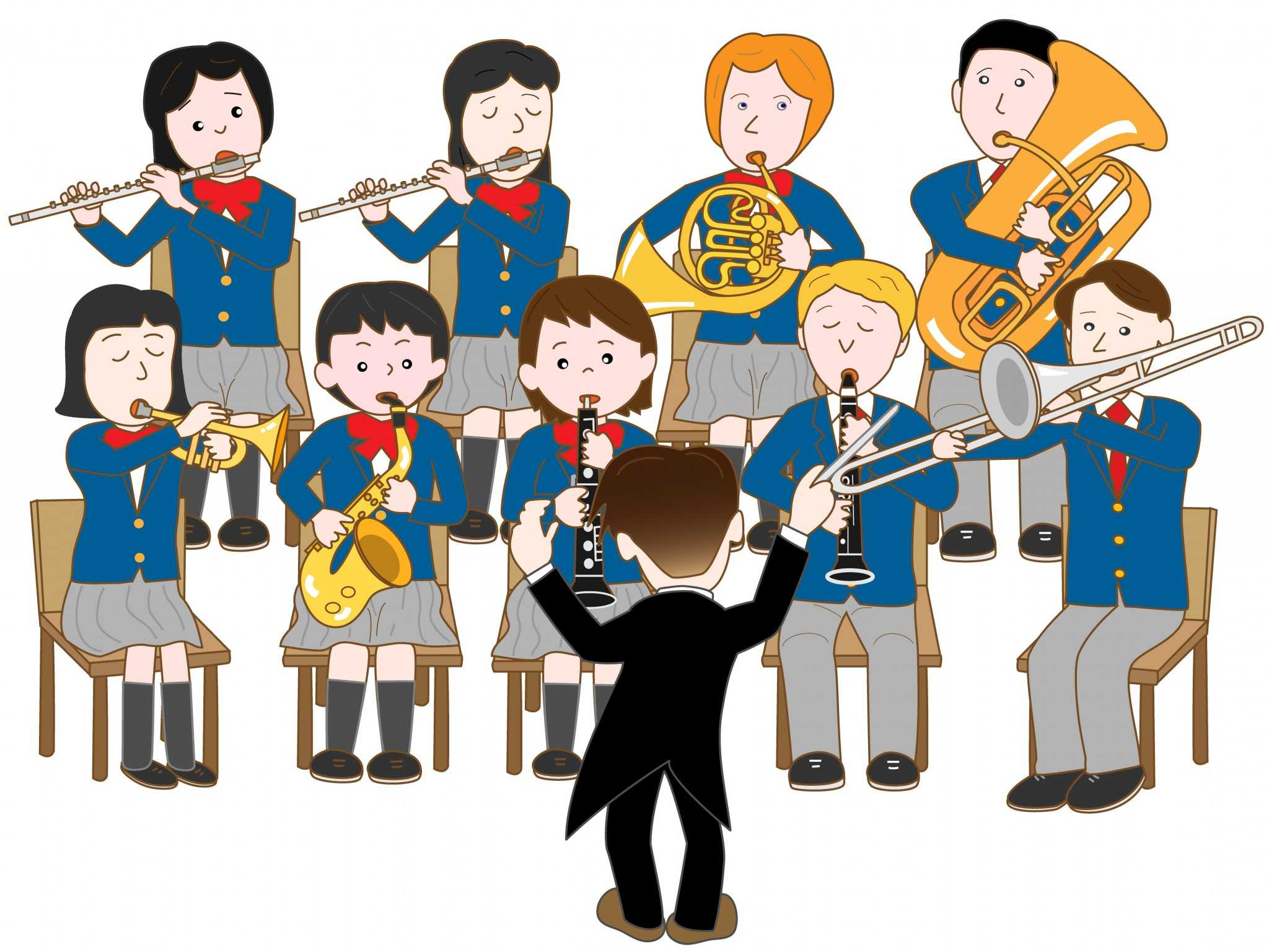 Becoming a teacher how. Band clipart music education