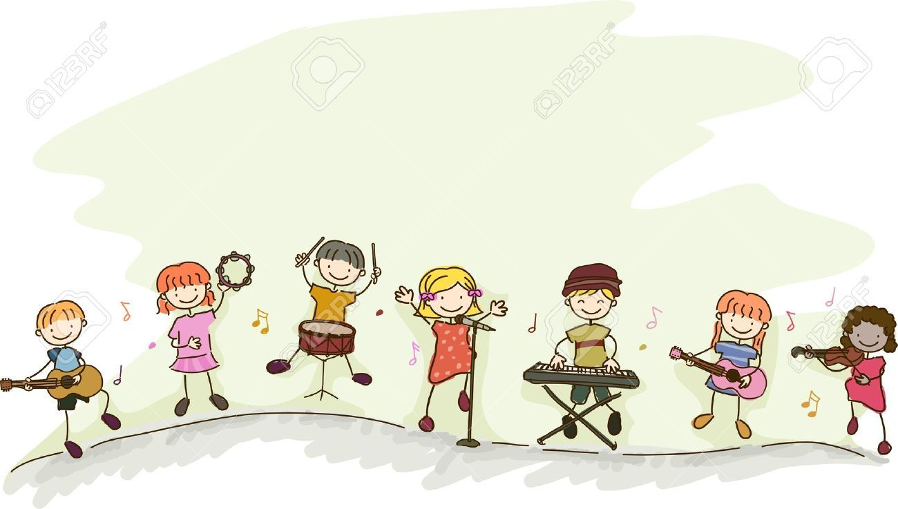Band clipart music education. Musical instruments get free