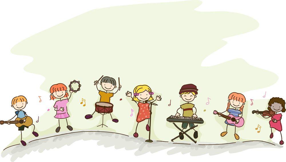 Band clipart music education. Cartoon vanhattan dance bands