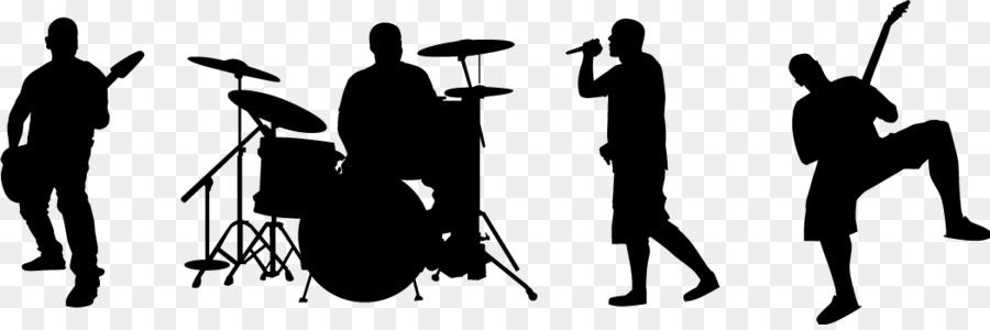 Performance audience musical clip. Band clipart music ensemble