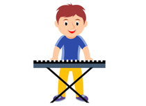 Search results for instruments. Band clipart music student