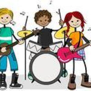 Band clipart music student. Kid rock clip art