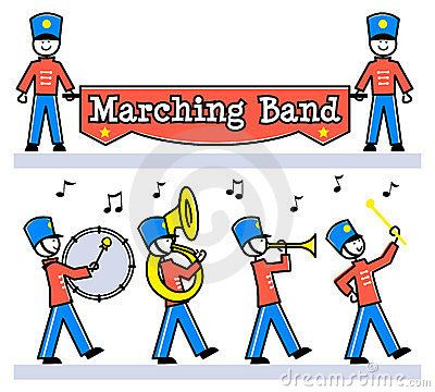 Parade clipart family music.  best marching band