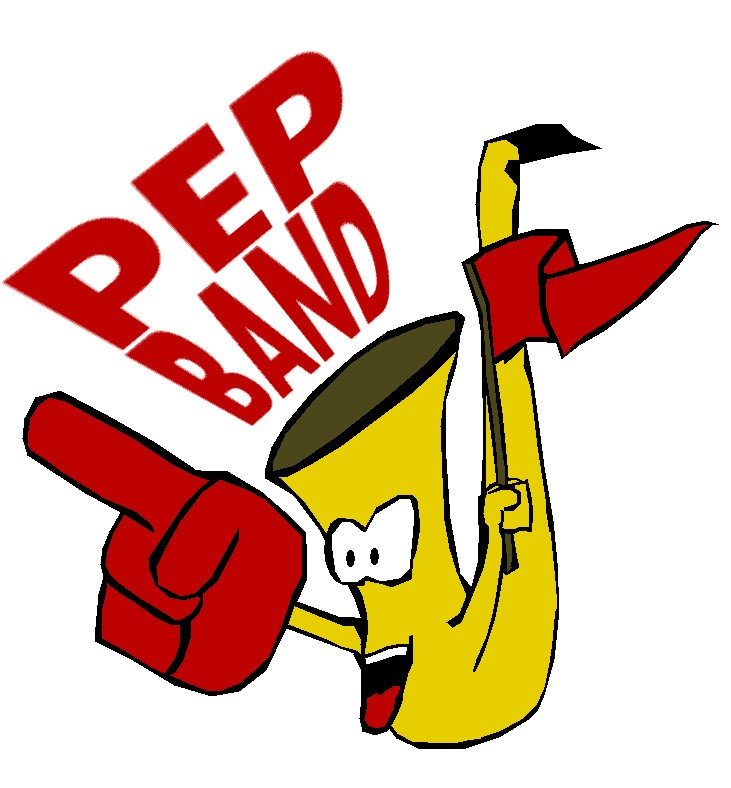 Band clipart pep band. Man by islemaster on