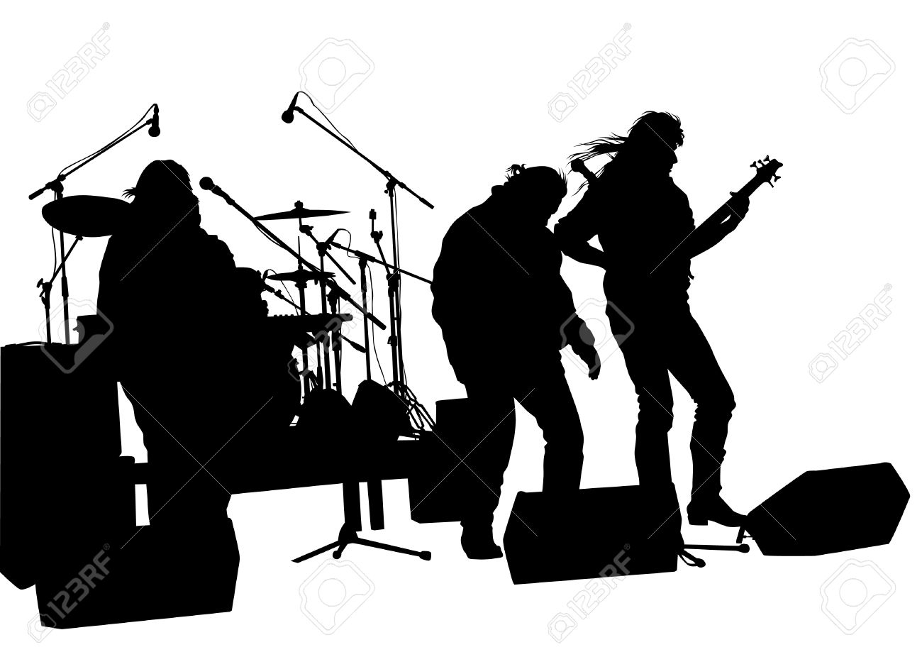 Station . Band clipart rock band