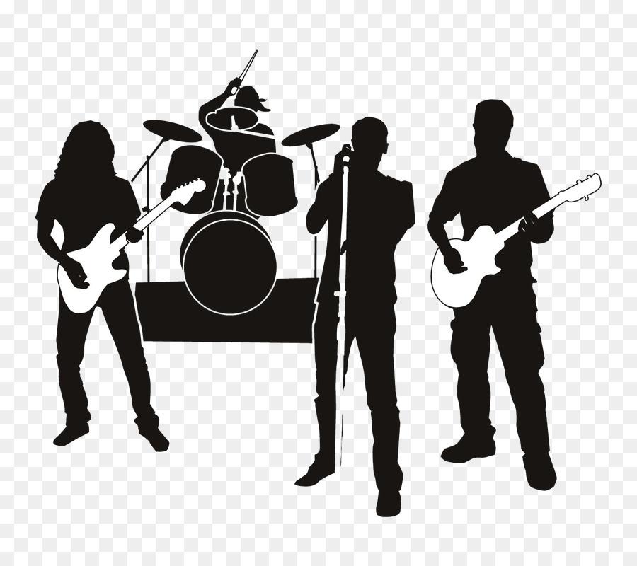 Band clipart rock band. Station