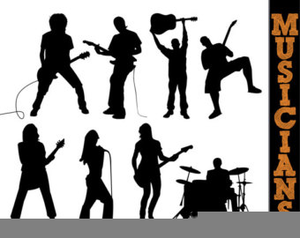 Cliparts free images at. Band clipart rock band